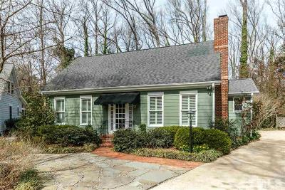 Raleigh Single Family Home For Sale: 2508 Winterbury Court