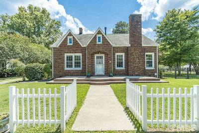 Single Family Home For Sale: 602 E Chatham Street