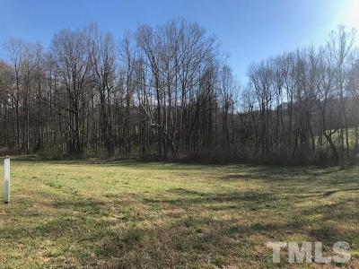 Chatham County Residential Lots & Land For Sale: 194 Rolling Woods Court