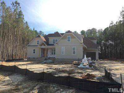 Wake Forest Single Family Home Pending: 5616 Abbey Grace Lane