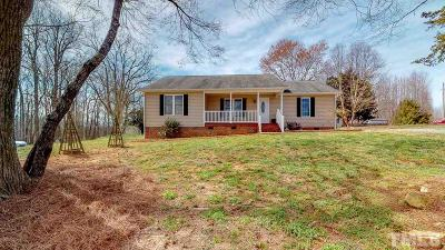 Rougemont Single Family Home Contingent: 360 Hill Road