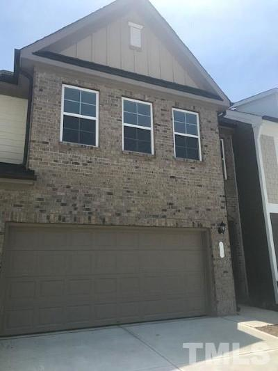 Apex Townhouse For Sale: 539 Wayland Grove Drive #Lot#16