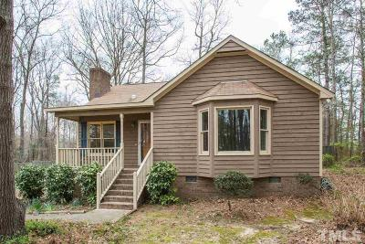Garner Single Family Home Contingent: 5012 Lipscomb Drive