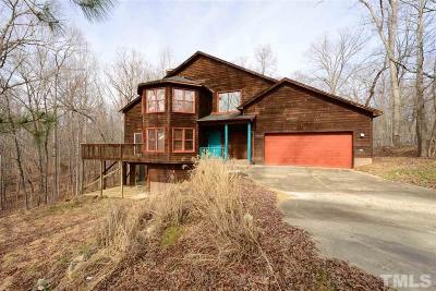 Pittsboro Single Family Home For Sale: 305 Uwharrie Ridge Road