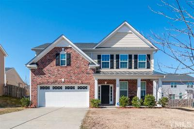Knightdale Single Family Home Contingent: 609 Gray Head Lane