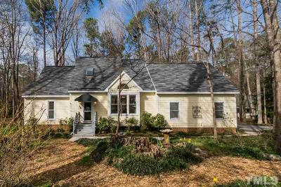 Chapel Hill Single Family Home Contingent: 602 Valen Court