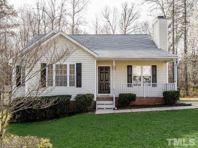 Holly Springs Single Family Home Contingent: 812 Stinson Avenue