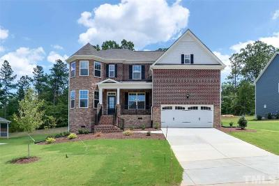 Durham County Single Family Home For Sale: 1006 Crescent Moon Court #Homesite