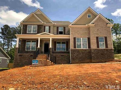 Durham Single Family Home For Sale: 1008 Crescent Moon Court #Homesite