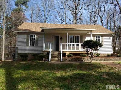 Youngsville Single Family Home For Sale: 188 Bridges Lane