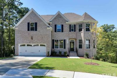 Durham Single Family Home For Sale: 1005 Crescent Moon Court #Homesite
