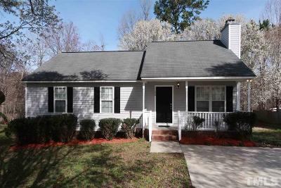 Knightdale Single Family Home Pending: 1124 Delham Road