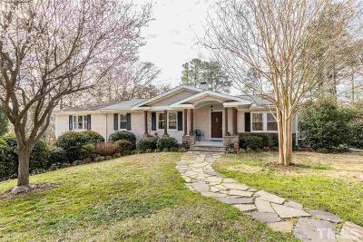 Single Family Home For Sale: 3405 Dell Drive
