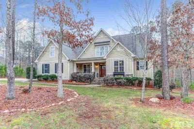 Wake Forest Single Family Home For Sale: 1192 Old Still Way