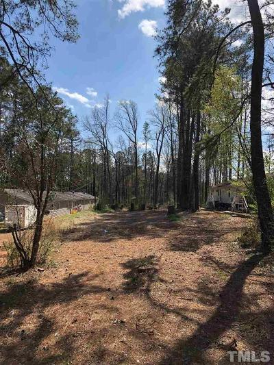 Wake County Residential Lots & Land For Sale: 605 Peach Road