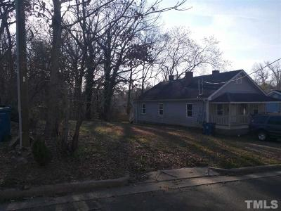 Durham Multi Family Home Contingent: 1118 Gurley Street