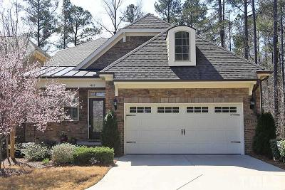 Cary Single Family Home Contingent: 1409 Medici Court
