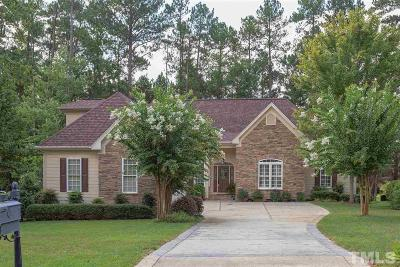 Chapel Hill Single Family Home For Sale: 39 Forked Pine Court