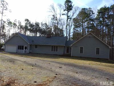 Henderson NC Single Family Home Pending: $399,000