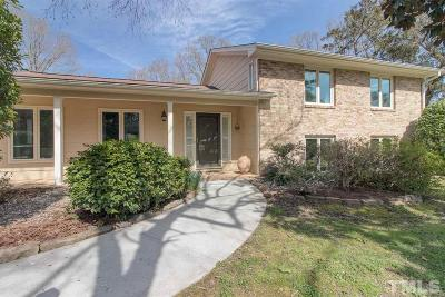 Durham Single Family Home For Sale: 2803 Friendship Circle