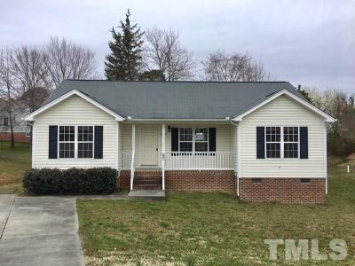 Granville County Single Family Home For Sale: 100 Winter Court