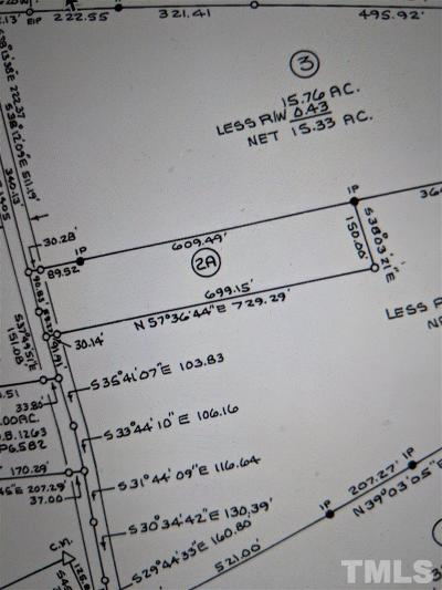 Franklin County Residential Lots & Land For Sale: Lot# 2A Cheeks Quarter Road
