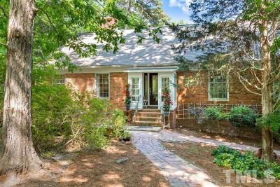 Chapel Hill Single Family Home For Sale: 1702 Michaux Road