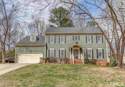 Raleigh Single Family Home For Sale: 8204 Old Deer Trail