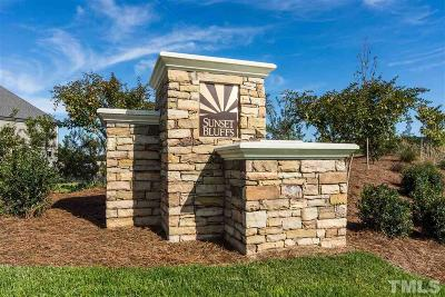 Fuquay Varina Single Family Home For Sale: 2417 Glade Mill Court #Lot 307