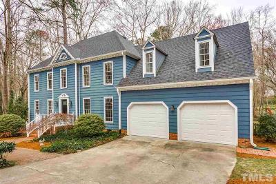 Wake County Single Family Home Contingent: 8008 Misty Dawn Place