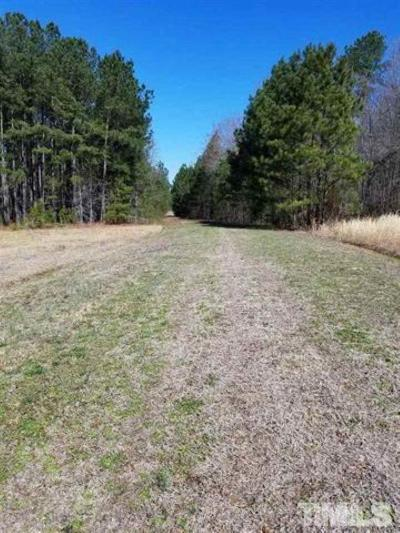 Granville County Residential Lots & Land For Sale: 1533 Bertha Drive