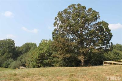 Chatham County Residential Lots & Land For Sale: Harold Hackney Road