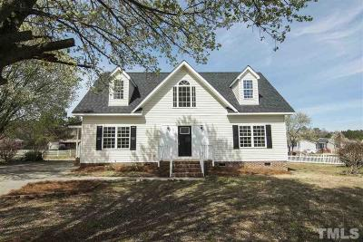 Smithfield Single Family Home Pending: 101 Clearwater Drive