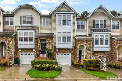 Raleigh Townhouse Contingent: 5811 Cameo Glass Way