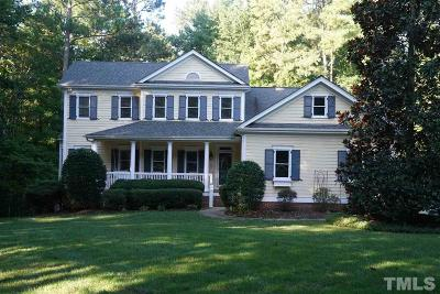 Wake Forest Single Family Home For Sale: 7501 Tynewind Drive