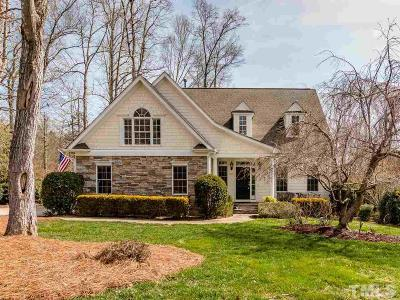 Chapel Hill Single Family Home For Sale: 240 The Preserve Trail