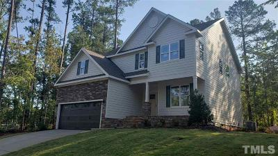 Cary Single Family Home For Sale: 1333 Forest Park Way