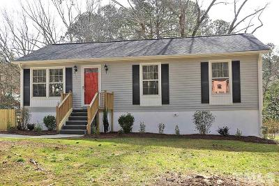 Raleigh Single Family Home For Sale: 2305 Evers Drive