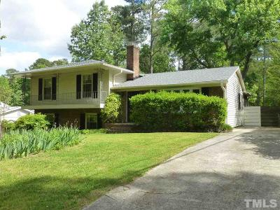 Chapel Hill Single Family Home For Sale: 1604 Ferrell Road