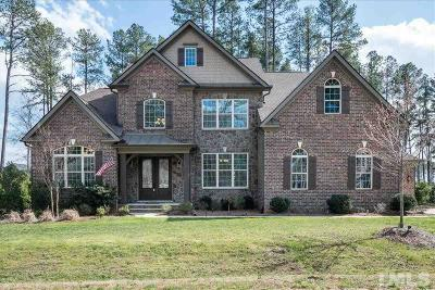Wake Forest Single Family Home For Sale: 1540 Sandybrook Lane