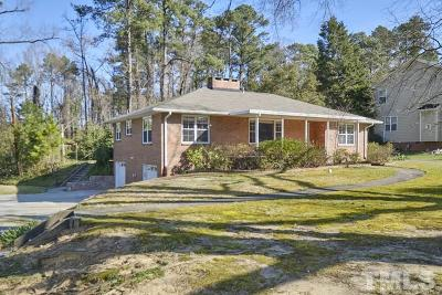 Durham Single Family Home Contingent: 2808 University Drive