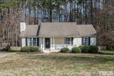 Knightdale Single Family Home Contingent: 4633 Hidden Hollow Lane