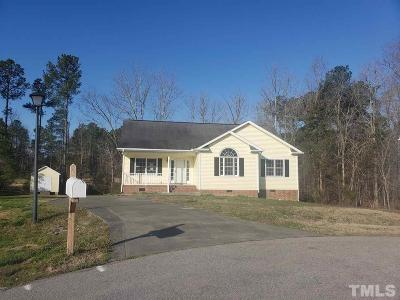Granville County Single Family Home For Sale: 1578 Rogers Pointe Lane