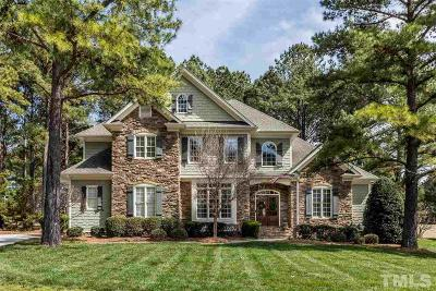 Wake Forest Single Family Home For Sale: 1313 Colonial Club Road