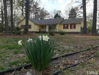 Zebulon Single Family Home For Sale: 9405 North Manor Drive
