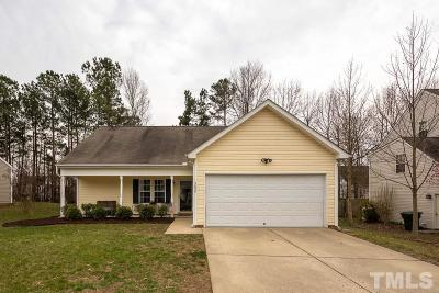 Raleigh Single Family Home For Sale: 3824 Chokecherry Lane