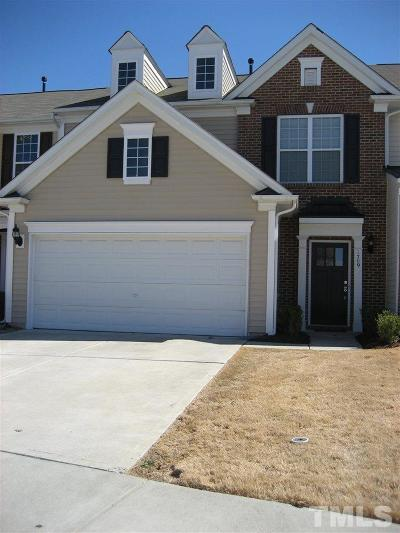 Morrisville Rental For Rent: 1709 Corwith Drive