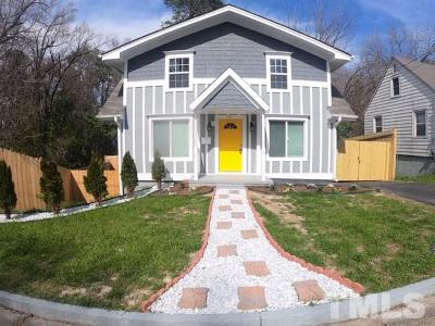 Durham Single Family Home For Sale: 711 Massey Avenue