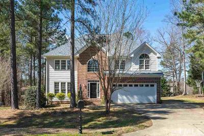 Raleigh Single Family Home For Sale: 5700 Manor Plantation Drive