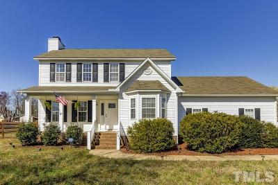 Clayton NC Single Family Home For Sale: $219,900